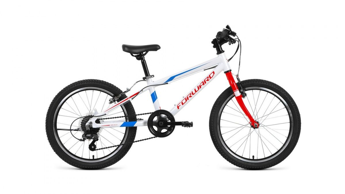 Велосипед Forward Rise 20 2.0 (2020) white/red