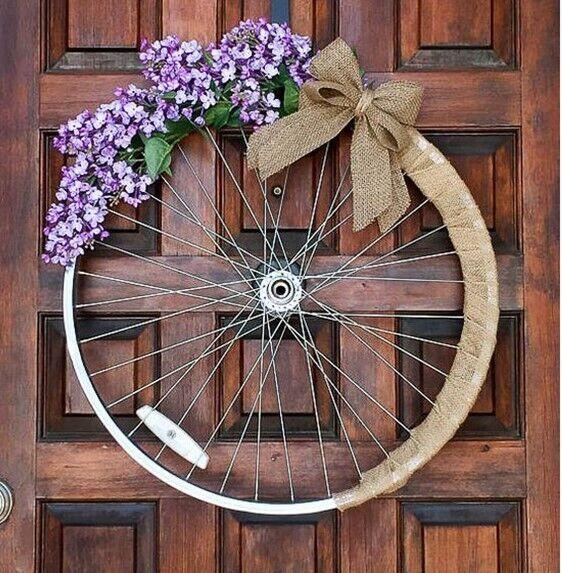 что своими руками из велосипедных колес фото для